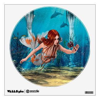 Sirena y lirio de mar