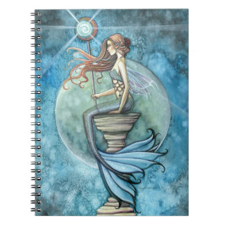 Sirena y luna de Beautifu Libreta