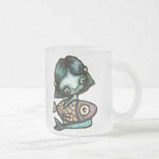 Sirena-y-pescados Taza