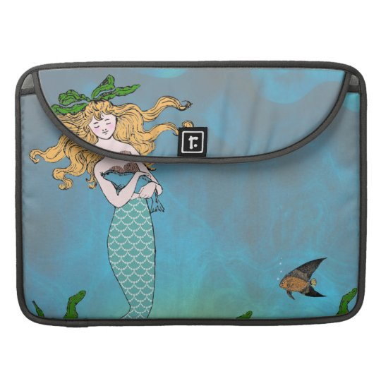 Sirena y sello funda para macbook pro