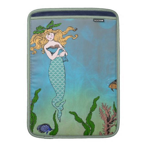 Sirena y sello fundas MacBook