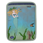 Sirena y sello fundas para iPads