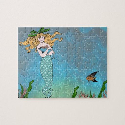 Sirena y sello puzzles