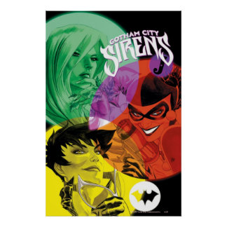 Sirenas Cv14 de Gotham City Poster