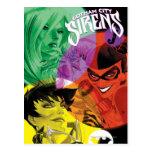 Sirenas Cv14 de Gotham City Postales