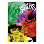 Sirenas Cv14 de Gotham City Tarjeton