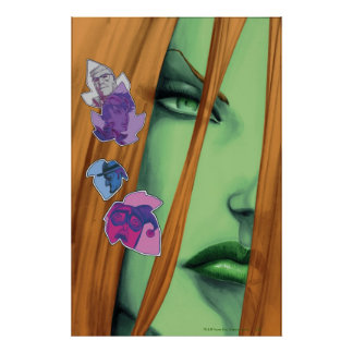 Sirenas Cv8 de Gotham City Poster