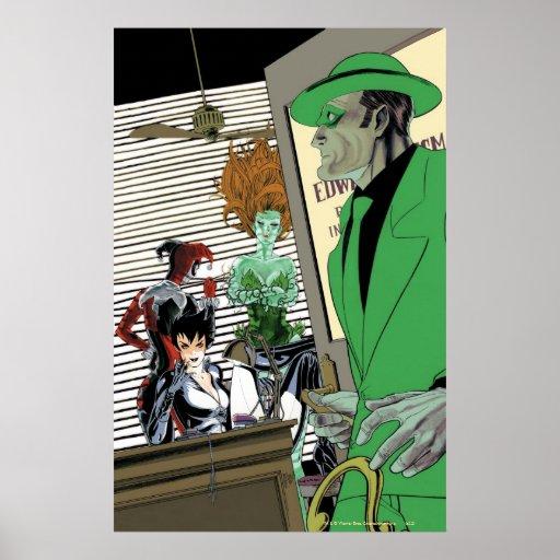 Sirenas Cv9 de Gotham City Posters