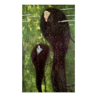 Sirenas de Gustavo Klimt Posters