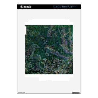 sirenas pegatina skin para iPad 3