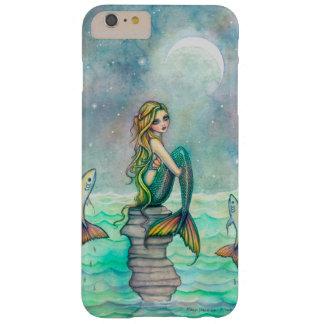 Sirenas pacíficas del arte de la fantasía de la funda para iPhone 6 plus barely there