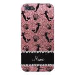 Sirenas rosas claras conocidas personalizadas del  iPhone 5 carcasas