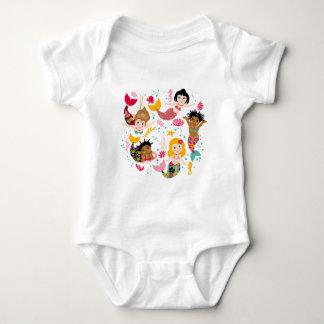 sirens baby bodysuit