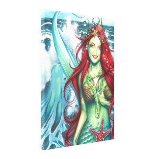 Sirens Love a Mermaids Kiss Canvas Print