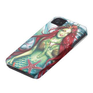 Sirens Love a Mermaids Kiss Case-Mate iPhone 4 Case