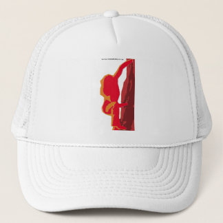 Sirens of Stone Image Red Trucker Hat