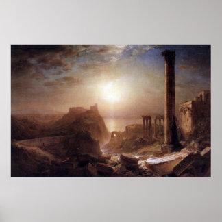 Siria en el mar por la iglesia de Federico Edwin Impresiones