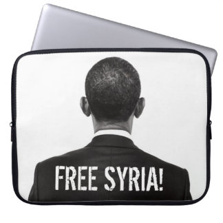 """¡""""Siria libre! """"(Cuartel Obama) HD del negro y Mangas Computadora"""