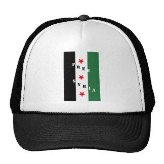 Siria libre gorras