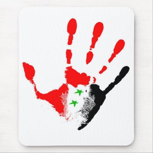 Siria libre Mousepad Alfombrillas De Ratones