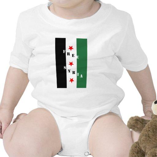 Siria libre trajes de bebé