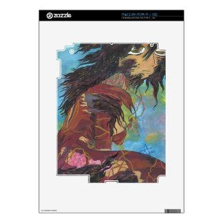 Siris en la transformación - arte de la cubierta d calcomanías para el iPad 2
