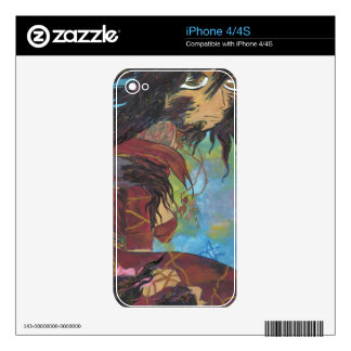 Siris in Transformation iPhone 4/4S Skin For iPhone 4S