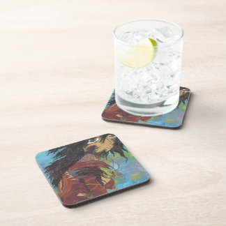 Siris in Transformation - Monster Book 1 cover art Drink Coaster