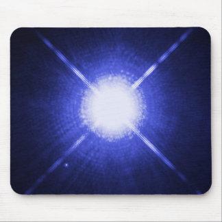 Sirius A y B - la estrella que brilla intensamente Tapete De Raton