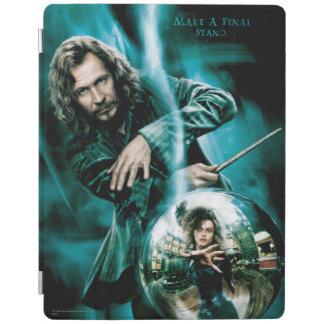 Sirius Black and Bellatrix Lestrange iPad Cover