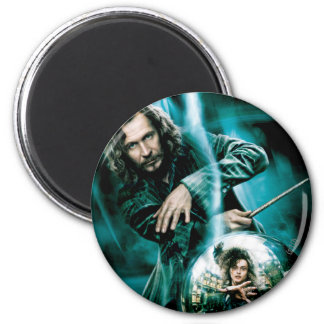 Sirius Black and Bellatrix Lestrange Fridge Magnets