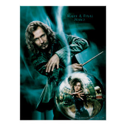 Sirius Black and Bellatrix Lestrange Poster