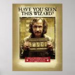 """Sirius Black Wanted Poster<br><div class=""""desc"""">Prisoner of Azkaban</div>"""