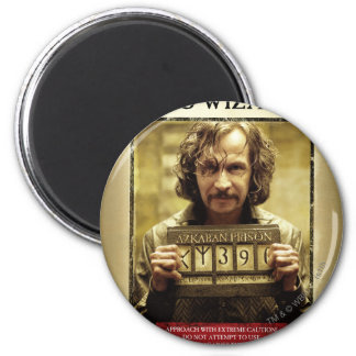 Sirius Black Wanted Poster 2 Inch Round Magnet