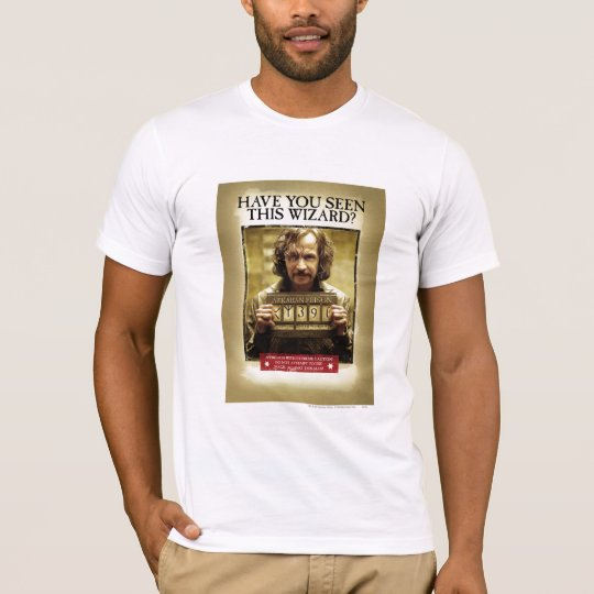Sirius Black Wanted Poster T-Shirt