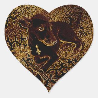 Sirius Heart Sticker