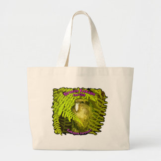 Sirocco in the Ferns Large Tote Bag