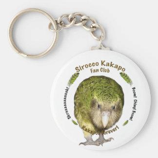 Sirocco Kakapo Fan Club Basic Round Button Keychain