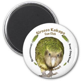 Sirocco Kakapo Fan Club Magnet