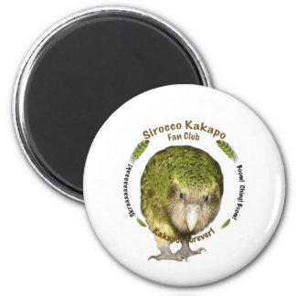 Sirocco Kakapo Fan Club Fridge Magnets