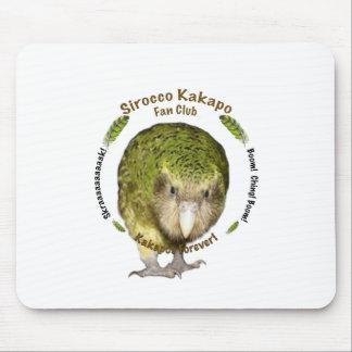 Sirocco Kakapo Fan Club Mouse Pad