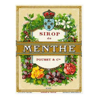 Sirop de Menthe Postcard