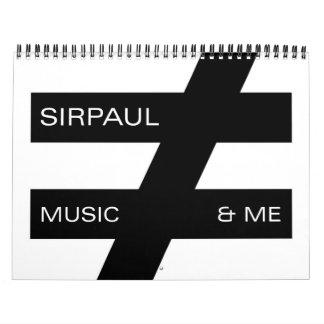 SIRPAUL™Calendar Calendar