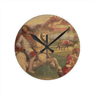 Sirva a caballo, a partir de la vida de St. Benedi Reloj