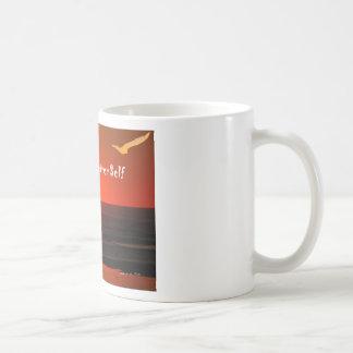 Sirva a su mejor uno mismo tazas de café