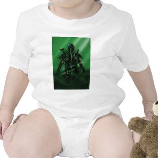 Sirva con el tote 2 de las armas trajes de bebé