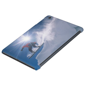 Sirva el salto de un cornince grande en una snowbo fundas de iPad mini retina