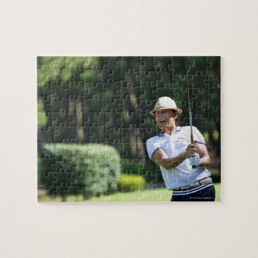 Sirva jugar al golf, prefectura de Miyazaki, Puzzles