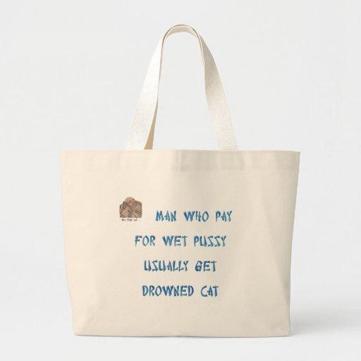 Sirva quién ahogó la compra la paga del gato para  bolsas de mano