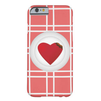 Sirva su corazón funda de iPhone 6 barely there